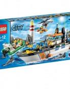 レゴ【LEGO】 シティ レスキューパトロールシップとヘリ