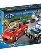 レゴ【LEGO】 シティ スポーツカーとポリスパトロールカー