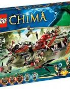 レゴ【LEGO】 チーマ クラッガーのコマンド・シップ
